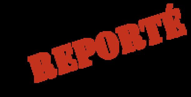 Actualité - MATCHES REPORTE ! - club Football Rosières ...