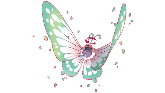 Gigantamax Butterfree | Official Website | Pokémon Sword ...
