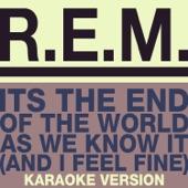It's the End of the World As We Know It (And I Feel Fine) [Karaoke Version] - Single
