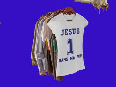 Jésus t-shirts chrétiens, Boutique chrétienne vetements ...