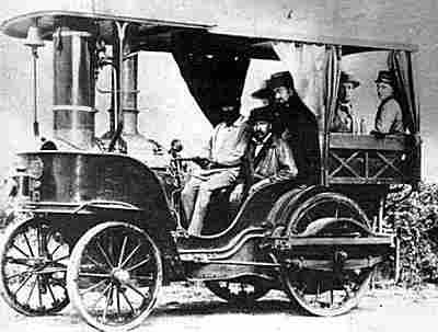 Ernest Bollée, la Rapide une voiture à vapeur de 1881 ...