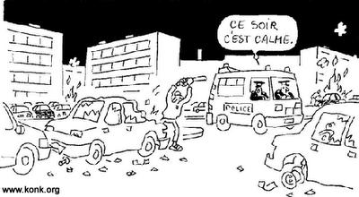 """Banlieues aussi """"chaudes"""" qu'en 2005 - Le blog politique ..."""
