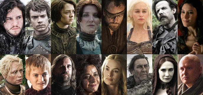 Test de personnalité : quel personnage de Game of Thrones ...