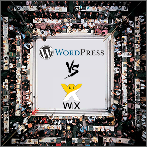 worpress vs wix image