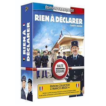 Rien à déclarer - Edition Limitée - DVD Zone 2 - Dany Boon ...