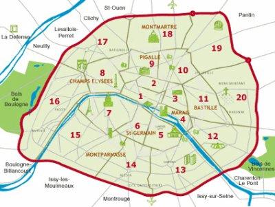 PARIS (75), centre historique du Milieu - Le Milieu du ...