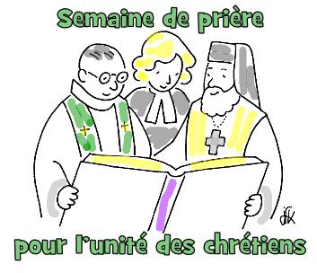 Semaine de pri�re pour l'unit� des chr�tiens