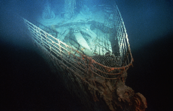 bow-of-shipwrecked-3 - Titanic: Before and After Pictures ...