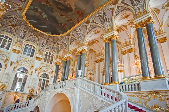 By the way...: Saint-Pétersbourg: musée de l'Ermitage partie I