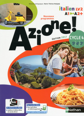 Azione ! Cycle 4 - Livre de l'élève - 9782091738918 ...