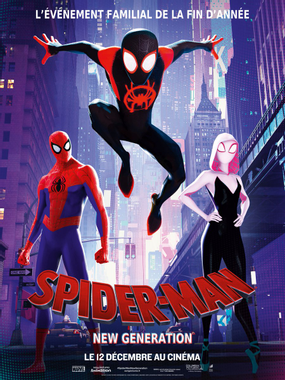 affiche du film Spider-man New Generation