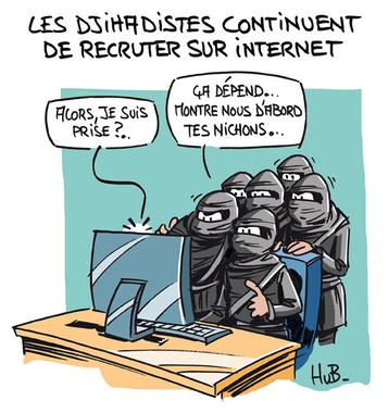 Les djihadistes continuent de recruter sur internet - Mes ...