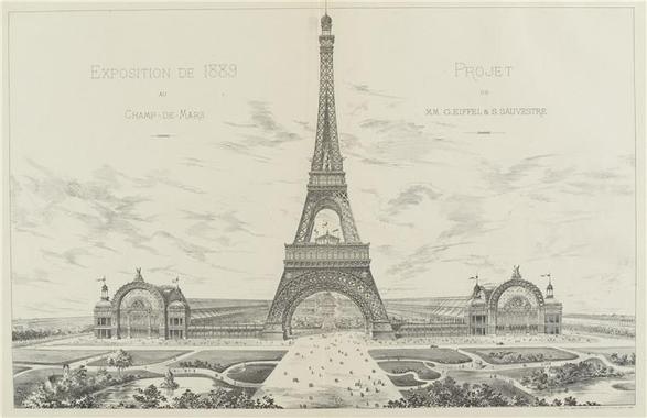 Projet de gustave Eiffel - Photo de Eiffel et la Tour ...