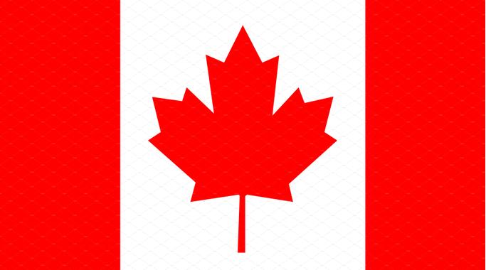 Canada Flag, Flag of Canada vector | Custom-Designed Icons ...