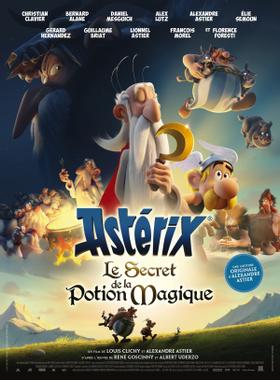 affiche du film Astérix et le secret de la potion magique