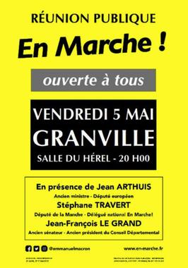 Présidentielle 2017. Réunion publique En Marche en soutien ...