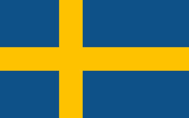 Drapeau de la Suède, Drapeaux du pays Suède
