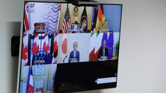 Avec Biden, le G7 s'engage à renforcer l'aide à la ...
