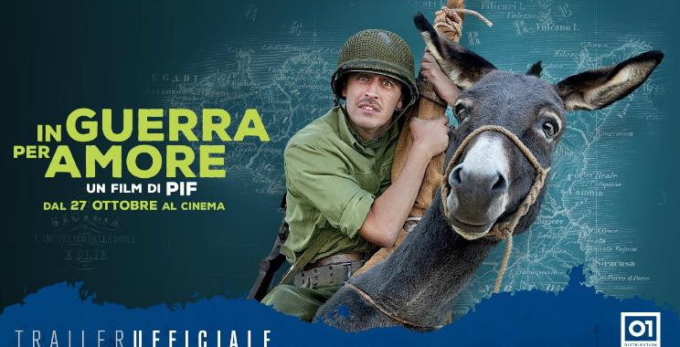 In Guerra per Amore film, Pif e Miriam Leone al cinema ...