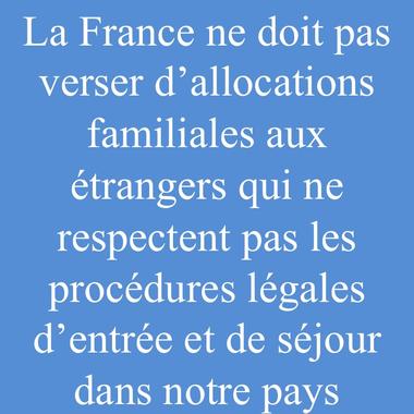 La France ne doit pas verser d'allocations familiales aux ...