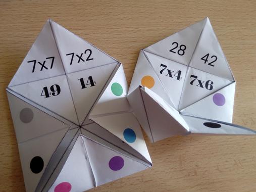 Cocotte des multiplications : mémoriser les résultats des ...