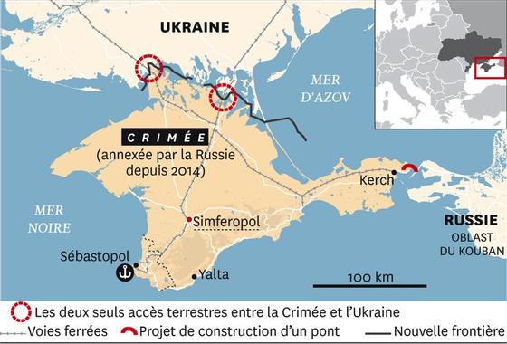 CRIMEE CAUCASSE CIRCASSIE - les villes du Pont Taman Kerch ...