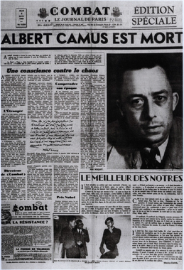 Albert Camus   citizen zoo