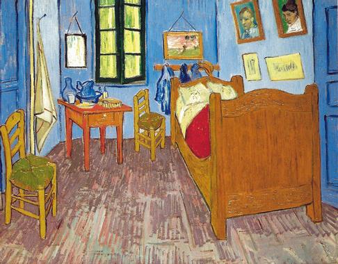Vincent van Gogh - Van Gogh's Bedroom at Arles, 1889 at ...