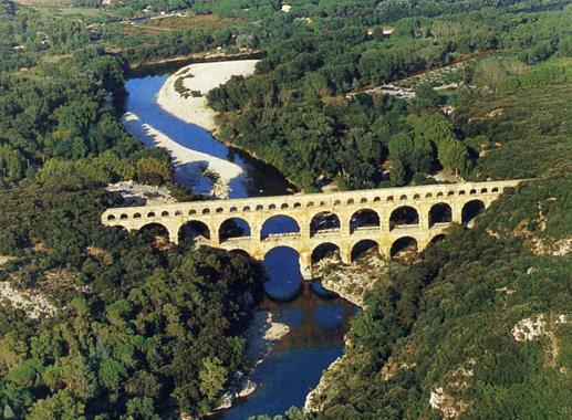 Pont du Gard/ClasséLePlusVisitéAprèsLeMontStMichel