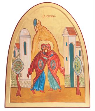 Visitation de la Très Sainte Vierge Marie à Élisabeth, sa ...