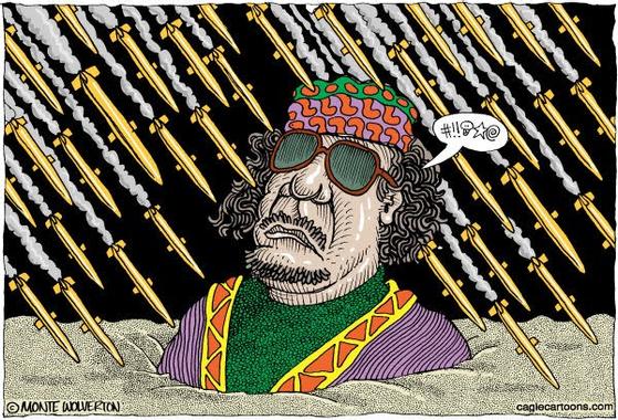 Les Tours de Laliberté: Caricatures Kadhafi: après les ...