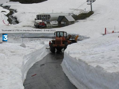 Un enneigement toujours remarquable dans les Pyrénées - 11 ...