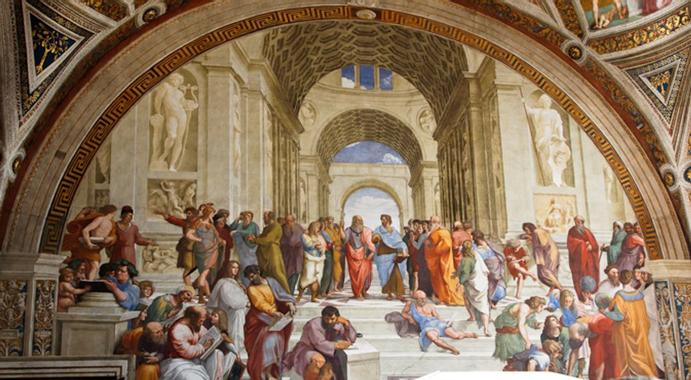 Raphael - L'école d'Athènes | Pearltrees