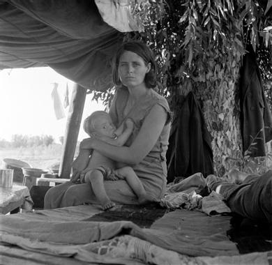 Dorothea Lange | Choc ! | Grande Dépression, Photographie ...