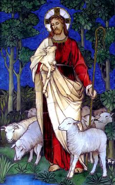 The Good Shepherd by James Powell c. 1888 | Dominus Vobiscum