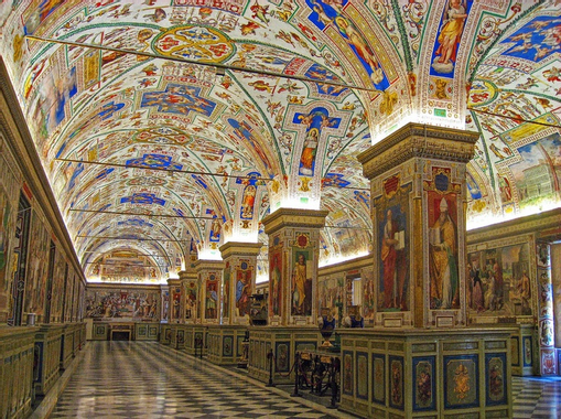 Vatican Library | Must See Places | Pinterest