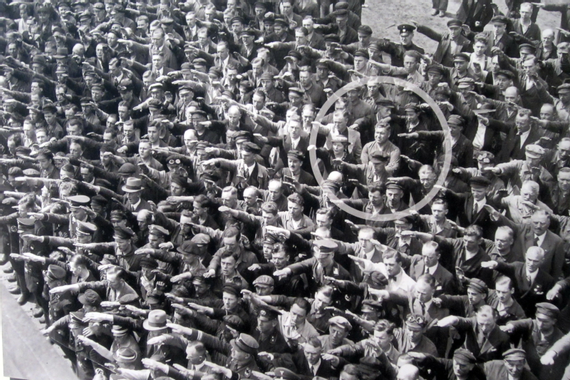 World War II Pictures In Details: Picture of People Giving ...