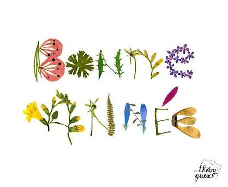 Carte Bonne Année fleur 2018 Fleur séchée Meilleurs voeux