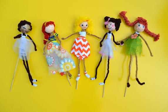 Poupée marionnette facile à fabriquer | Doll sewing ...
