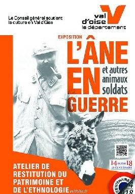 """SAINT-GRATIEN Exposition : """"L'âne en guerre et autres ..."""