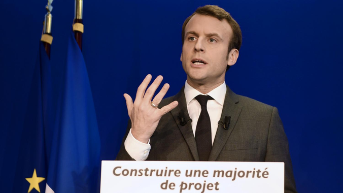 Législatives : le leader d'En marche, Emmanuel Macron ...