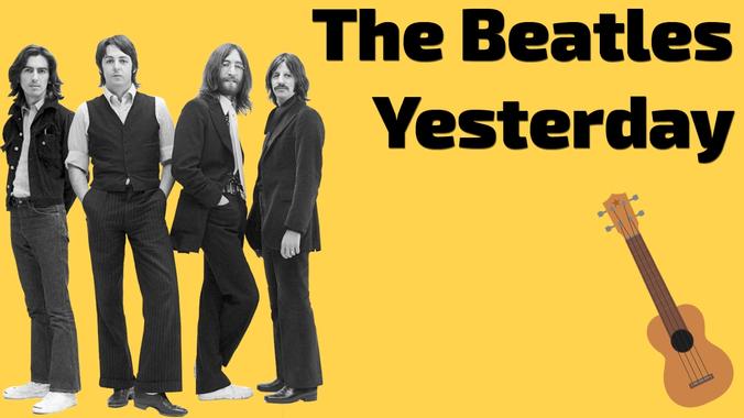 The Beatles - Yesterday. Ukulele lesson - YouTube