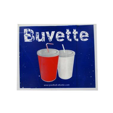 Panneau Buvette Nouveautés paintball-Nouveautés