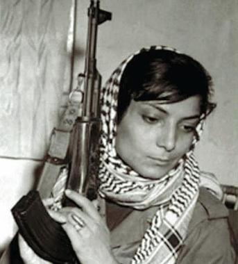 Palestinian terrorist Leila Khaled turned back from ...