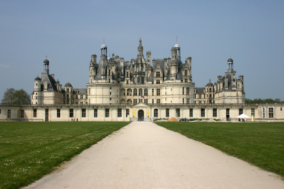 Chateau de Chambord on Freemages