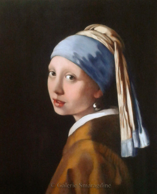 Girl with a pearl earring | Galerie Smaragdine