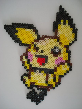 Pichu | pattern by Momogirl | stopsign | Flickr