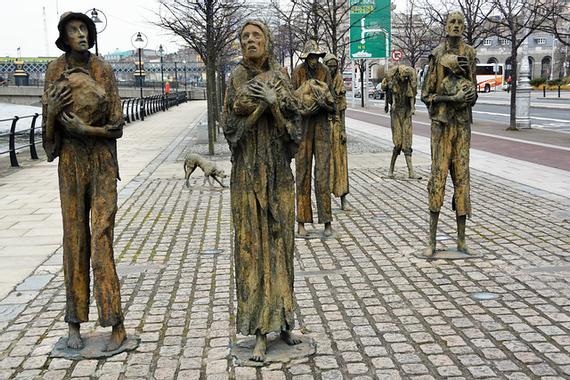 Potato Famine Statues 1 | Flickr - Photo Sharing!