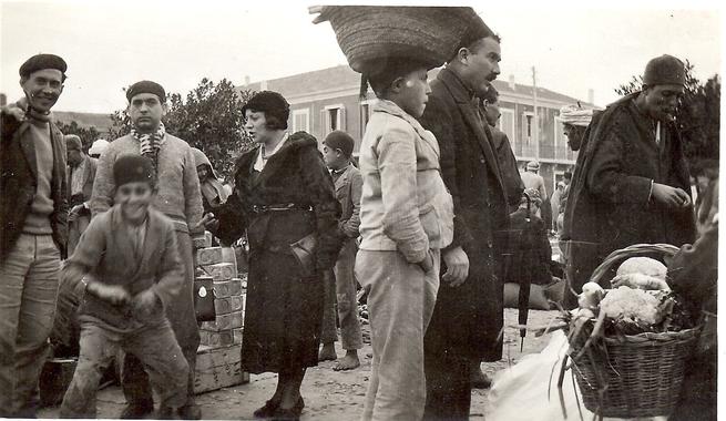 jijel.info - Le Marché de Djidjelli dans les années 1930