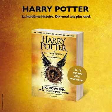 Harry Potter et l'enfant maudit - J.K. Rowling, J. Thorne ...